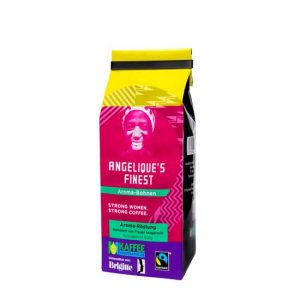 Angelique's Finest 2x500g, Aroma-Kaffee,  Made by Women